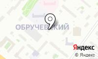Олимпийский на карте