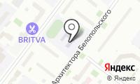 Средняя общеобразовательная школа №103 на карте