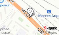 Магазин хлебобулочных изделий на Зеленоградской на карте
