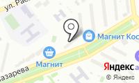 Почтовое отделение ГУБКИН 10 на карте