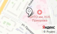 ЦИТО на карте