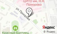 Кафе на Приорова на карте