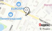 Нотариус Бирюкова О.М. на карте
