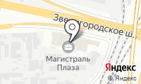 Магистраль плаза на карте
