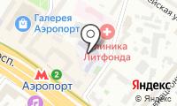 Средняя общеобразовательная школа №152 на карте