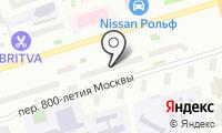 Сансет на карте