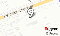 Почтовое отделение ГУБКИН 7 на карте