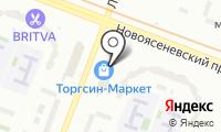 Торгсин-Маркет на карте