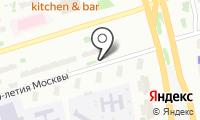 Шиномонтажная мастерская на ул. 800 лет Москвы на карте