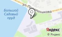 Сеть мастерских по заточке инструментов на карте