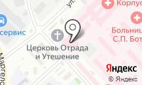 ТБ и К на карте