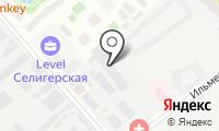 Русскiй паломникъ на карте
