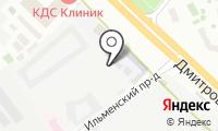 Шиномонтажная мастерская на Ильменском проезде на карте