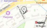Лань на карте