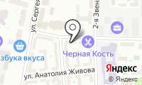 ОПОП Центрального административного округа на карте