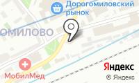 Садовая точка на карте