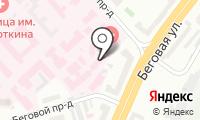 Московский научно-исследовательский онкологический институт им. П.А. Герцена на карте