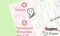 Городская клиническая больница №50 на карте
