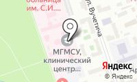 Центр стоматологии и челюстно-лицевой хирургии на карте