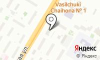 Такси-Блюз на карте