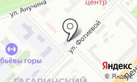 Детский сад №1231 на карте