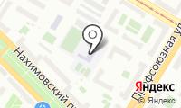 Средняя общеобразовательная школа №584 на карте