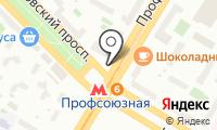 Магазин бытовой химии и косметики на Профсоюзной на карте