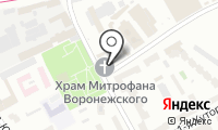 Храм Святителя Митрофана Воронежского на Хуторской на карте