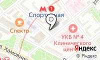 Форпост на карте