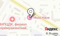 Супермаркет на карте