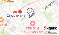 Мастерская по ремонту одежды и обуви на Доватора на карте