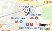 Станция Киевская на карте