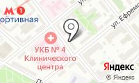 Спорт станция на карте