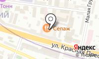 Нотариус Конина О.В. на карте