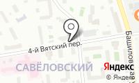 Магазин цветов на Вятском 4-м пер на карте