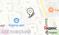 Автомойка на Вятском 4-м переулке на карте