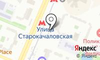 Станция Улица Старокачаловская на карте