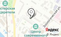 Координационный центр национального домена сети интернет на карте