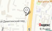 Посольство Соединенных Штатов Америки в г. Москве на карте