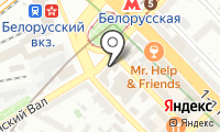 Бистро на Брестской 2-й на карте