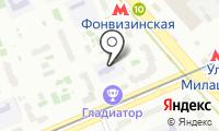 Детский сад №1745 на карте