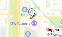 Автомойка на Пришвина на карте