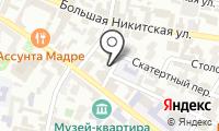 Посольство Исландии в г. Москве на карте