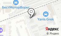 Атис на карте