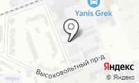 Бытовка на карте