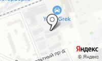 ЭКТ на карте