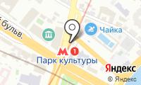 Станция Парк культуры на карте