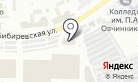 Автобусный парк №3 на карте