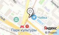 Аптека на Остоженке на карте