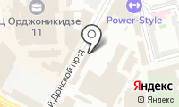 Русбумторг на карте